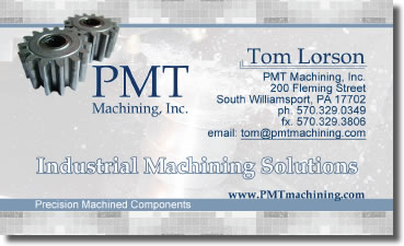 Tom Lorson - PMT Maching Inc. Prresident